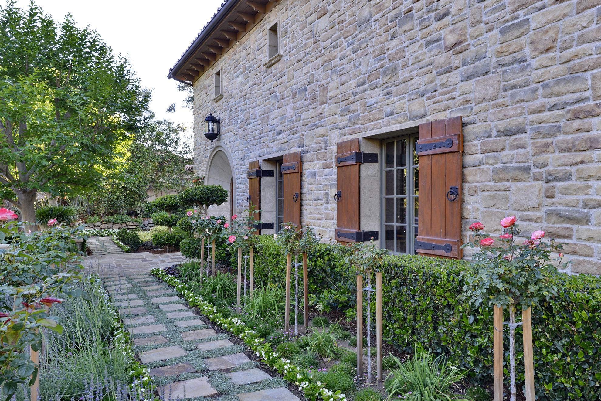 Rancho Santa Fe Mediterranean Gardens Torrey Pines Landscape Company San Diego Landscape Design Build Maintenance