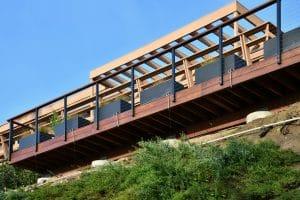 Ipe Deck construction